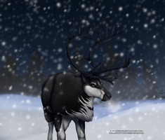 Vex the reindeer by Rivetbones