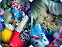 The Prince of the Stuffed Animals by ForeverResin