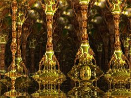 Holy Bulbs Cathedral (detail ) by PhotoComix2