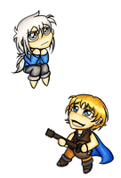 Attack of the Muse Chibis by trilly-ankh