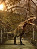 After the fall of Jurrasic Parc by SPRSPRsDigitalArt