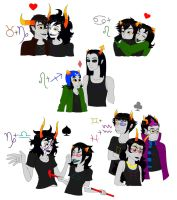 Homestuck: sappy shipping stuff by Cheeco6247