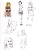 More drawings of stuff by LilBluestem
