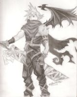 Cloud Strife by Randanopterix