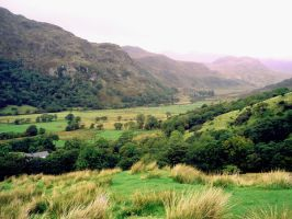 Lakes district valley 2 by GoblinStock