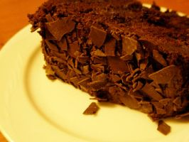 Chocolate cake by allisonsayshello