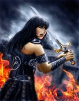 Xena Warrior Princess by FantasyMaker