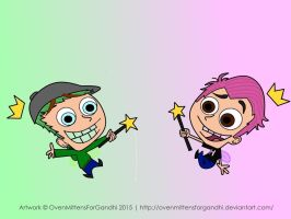 The Fairly Oddparents Starring Jack And Mark by OvenMittensForGandhi