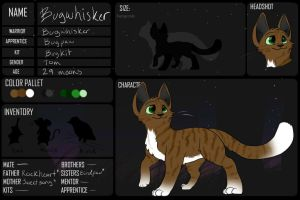 Bugwhisker of Stealthclan by BeadFeather
