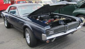 67 Mercury Cougar by zypherion