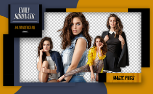PACK PNG 227 | EMILY DIDONATO by MAGIC-PNGS