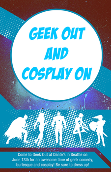 Cosplay poster by CaponDesign