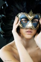 The Venician mask of seduction by photofenia