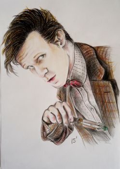 Matt Smith by MatyldaSzytula