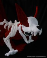 6-tailed kyuubi naruto plush: angle 3 by goiku