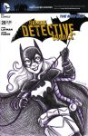 Batgirl Sketch Cover by msciuto