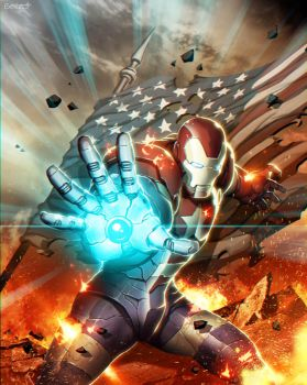 Iron Patriot Plus by GENZOMAN