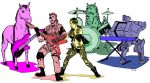 Snake and the Buddies- colors by CrimeRoyale