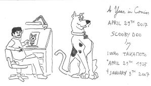 April 29th - Scooby Doo by kanyiko