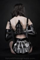 Latex Reverse Prayer by BlackRoomPhoto