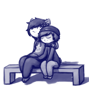 Sit next to me before I go by Roxandasher