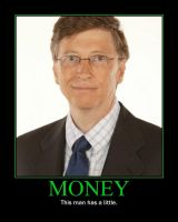Money Motivational Poster by QuantumInnovator