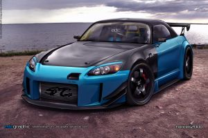 Honda S2k by edcgraphic