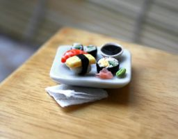 Sushi re-arranged by Zhoira