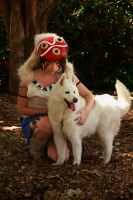 Mononoke - Wolf Princess by CrystalPanda