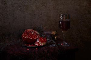 with pomegranate 2 by An-gora