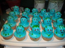 I Have an Army... of Jotun Cupcakes by nomokis