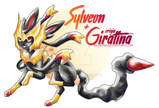 Sylveon X Giratina by Seoxys6