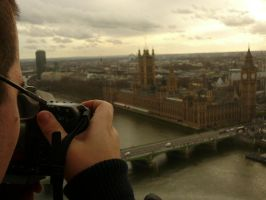 My London Eye by medveh
