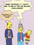 the Simpsons Ice Bucket Challeng by dabbycats