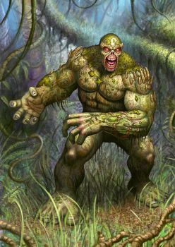 Swamp thing by adam-brown