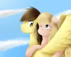Ready to fly? PW and Dreamchan by Alexis25