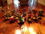 My Amiibo collection so far by TheDarkNeon
