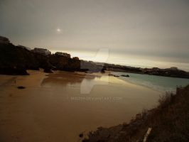 Newquay beach by Mio299