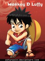 luffy the Pirates kid by ashuraxin