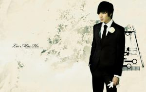Lee Min Ho Wallpaper II by Dextera