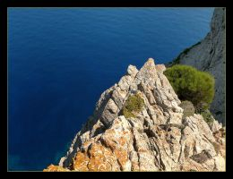 Cliffs Of Mallorca - 1 by skarzynscy