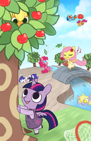 MLP x Animal Crossing by Mousu