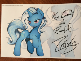 Bronycon 2013 Trixie Print by TheParagon