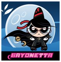 Powerpuff Bayonetta by mdk7