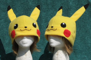 Pikachu Hat by clearkid