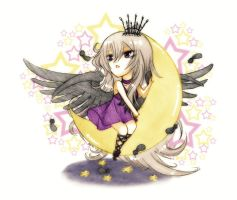 TM commission: Night Seraph by Fortranica