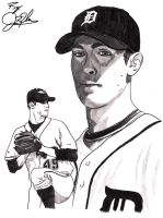Detroit Tigers Rick Porcello by NewEraUsher