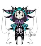Pastel goth monster pet adoptable open by AS-Adoptables