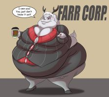 Lucy Farr by TubbyToon