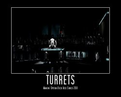 Turret Opera's by pizzapants